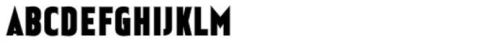 Earthman Heavy BB Font UPPERCASE