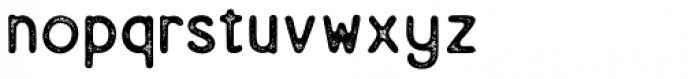 Eastern Rusty Font LOWERCASE