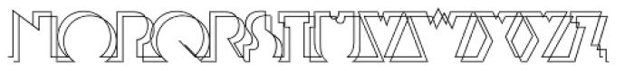 Eastside EF Double Font LOWERCASE