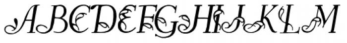 Easy Egmontian Plus Font UPPERCASE