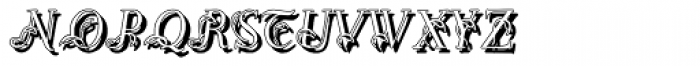 Easy Egmontian Shadow Font LOWERCASE