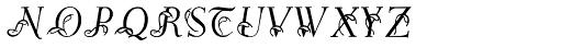 Easy Egmontian Font LOWERCASE