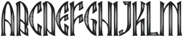 Ebbarus Scratched Regular ttf (400) Font UPPERCASE