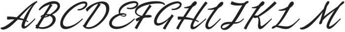 Ebbing Pro otf (400) Font UPPERCASE