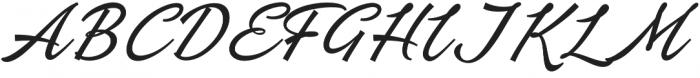 Ebbing otf (400) Font UPPERCASE