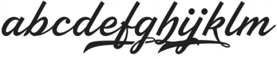 Ebbing otf (400) Font LOWERCASE