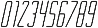 Ebdus Heavy Italic otf (800) Font OTHER CHARS