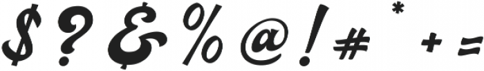 Ebullience otf (400) Font OTHER CHARS