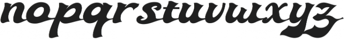 Ebullience otf (400) Font LOWERCASE