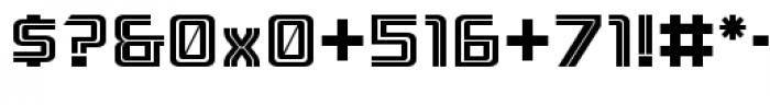 Ebtekar Pro Inline 2 Font OTHER CHARS