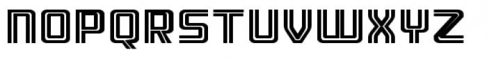 Ebtekar Pro Inline 2 Font UPPERCASE