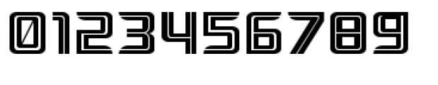 Ebtekar Pro Inline Font OTHER CHARS