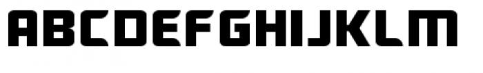 Ebtekar Pro Regular Font UPPERCASE