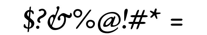 EB Garamond 08 Italic Font OTHER CHARS