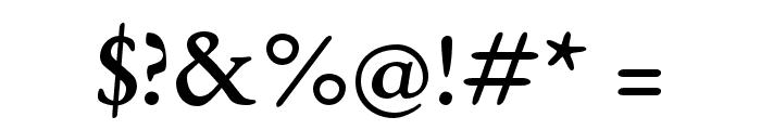 EB Garamond 08 Regular Font OTHER CHARS