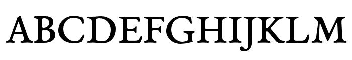 EB Garamond 08 Regular Font UPPERCASE