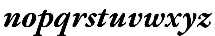 EB Garamond Bold Italic Font LOWERCASE
