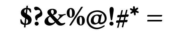 EB Garamond Bold Font OTHER CHARS