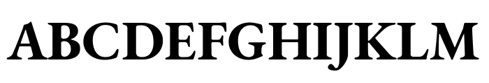 EB Garamond Bold Font UPPERCASE