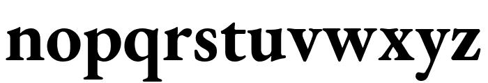 EB Garamond Bold Font LOWERCASE