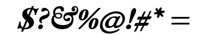 EB Garamond ExtraBold Italic Font OTHER CHARS