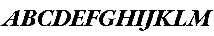 EB Garamond ExtraBold Italic Font UPPERCASE