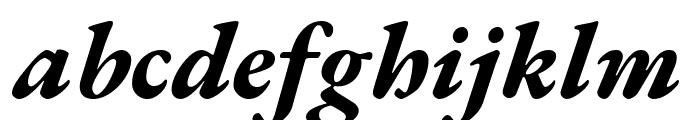 EB Garamond ExtraBold Italic Font LOWERCASE