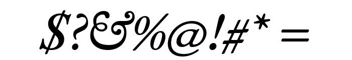 EB Garamond Medium Italic Font OTHER CHARS