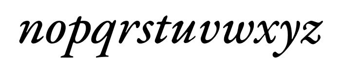 EB Garamond Medium Italic Font LOWERCASE
