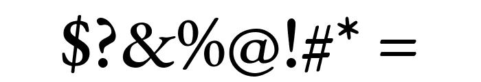 EB Garamond Medium Font OTHER CHARS