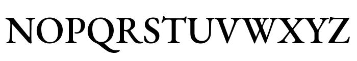 EB Garamond Medium Font UPPERCASE