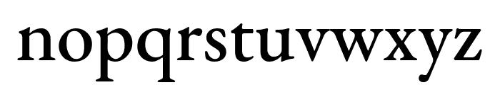 EB Garamond Medium Font LOWERCASE
