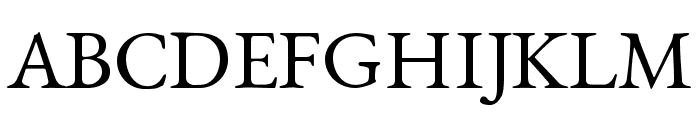 EB Garamond Regular SmallCaps Font UPPERCASE