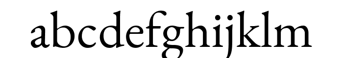 EB Garamond Regular Font LOWERCASE