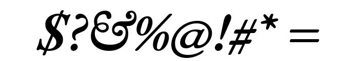 EB Garamond SemiBold Italic Font OTHER CHARS