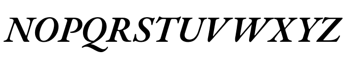 EB Garamond SemiBold Italic Font UPPERCASE