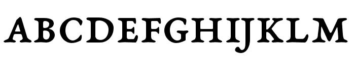 EB Garamond SmallCaps 08 Regular Font LOWERCASE