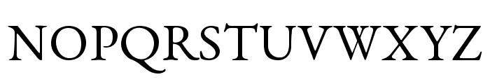 EB Garamond Font UPPERCASE