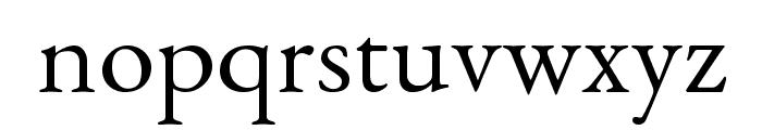 EB Garamond Font LOWERCASE