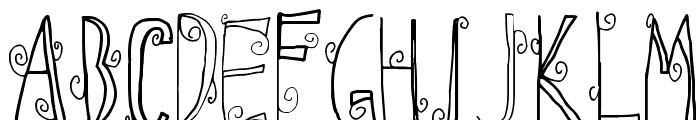 Ebba Font Font UPPERCASE
