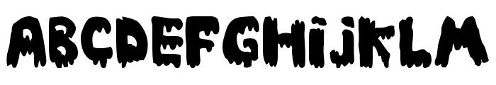 Ebola Font Font LOWERCASE