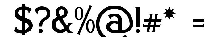 Eboracum Font OTHER CHARS