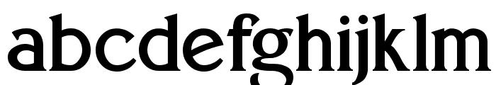 Eboracum Font LOWERCASE