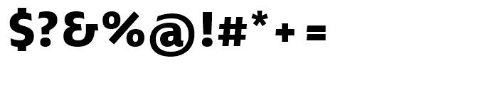 Ebony ExtraBold Font OTHER CHARS
