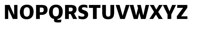 Ebony ExtraBold Font UPPERCASE