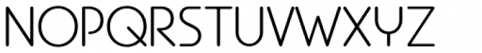EB Bellissimo Display Light Font UPPERCASE