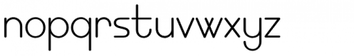 EB Bellissimo Display Light Font LOWERCASE