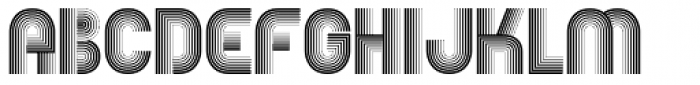 EB Boogie Monster Font UPPERCASE