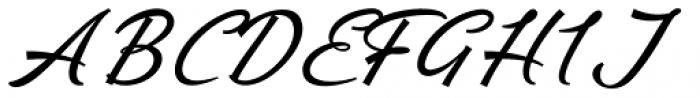 Ebbing Swash Font UPPERCASE