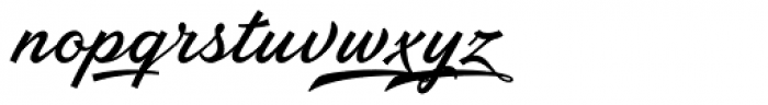 Ebbing Font LOWERCASE